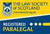 The Law Society of Scotland Registered Paralegal
